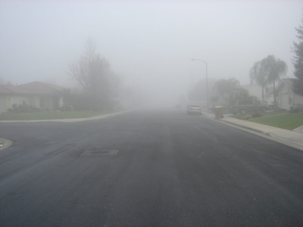 4 Tips for Safely Driving in Fog and Rain