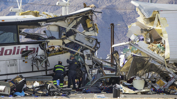 Big Rig v. Tour Bus Crash – Latest in Ongoing Big Rig Boom Epidemic?