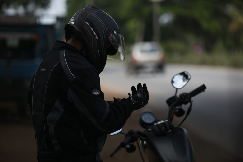 Helmets Lower Risk of Cervical Spine Injuries in Motorcycle Accidents