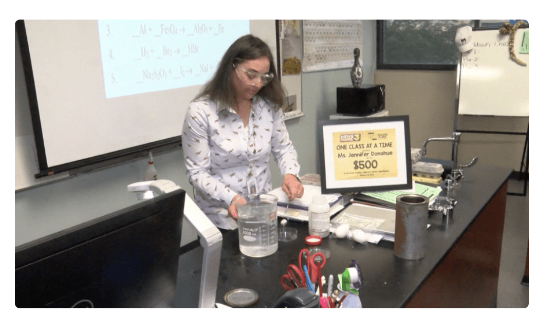 Rancho Mirage Teacher Wins Award